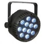 Showtec Club Par 12/4 RGBW DMX LED Par Flatpar Spotlight Spot